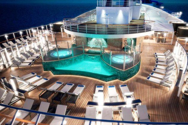 MSC Yacht Club Pool Area
