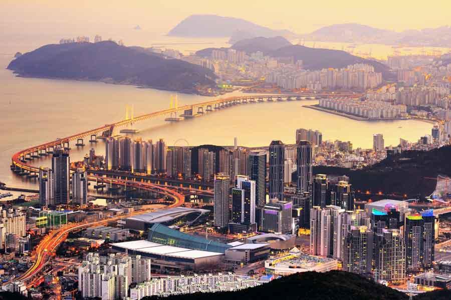 Sydkorea Busan