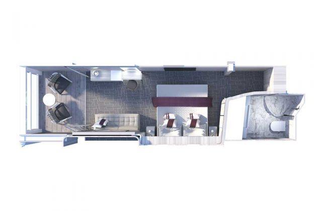 CEL Edge Infinite Veranda layout