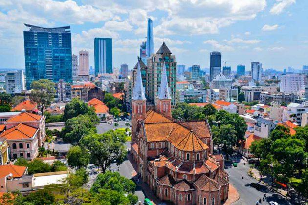 Ho Chi Minh katedral