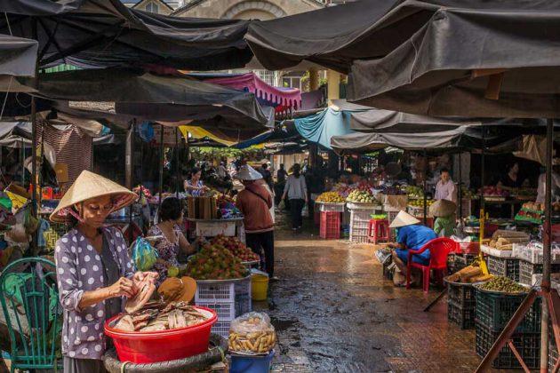 Marknad Mekong