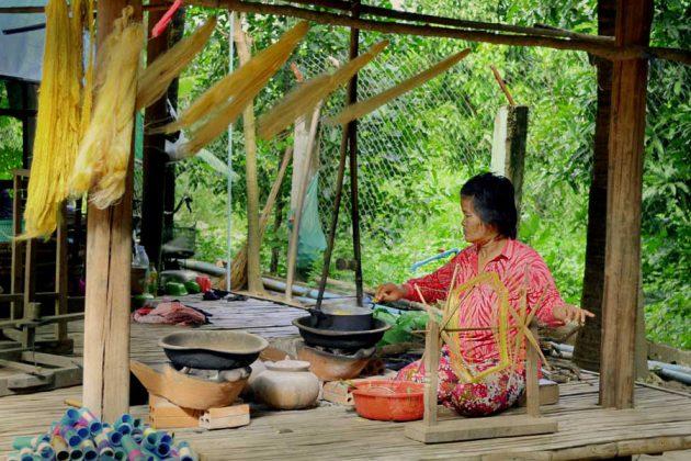 Koh Oknha Tey, Mekong
