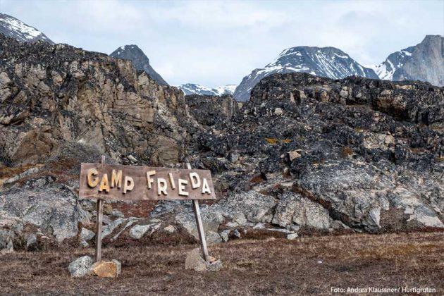 Camp Frieda Grönland HGR