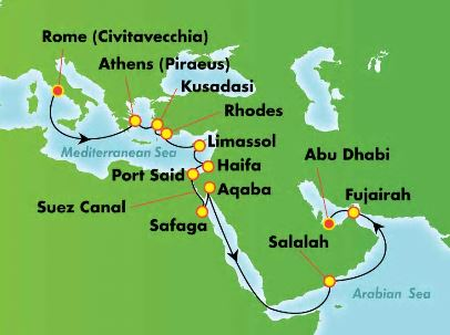 NCl Jade Suezkanalen Karta