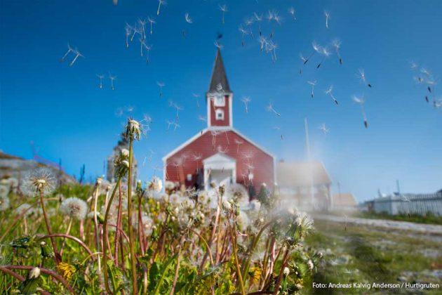 Nuuk Grönland kyrka HGR