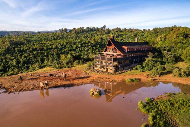 Hotell The Ark, Kenya.