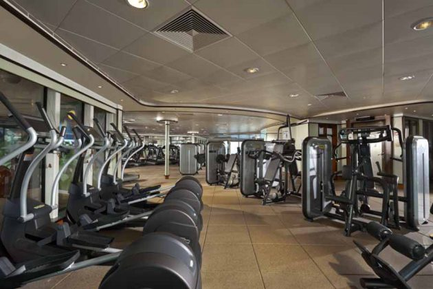 NCL Ship Dawn Fitness Center