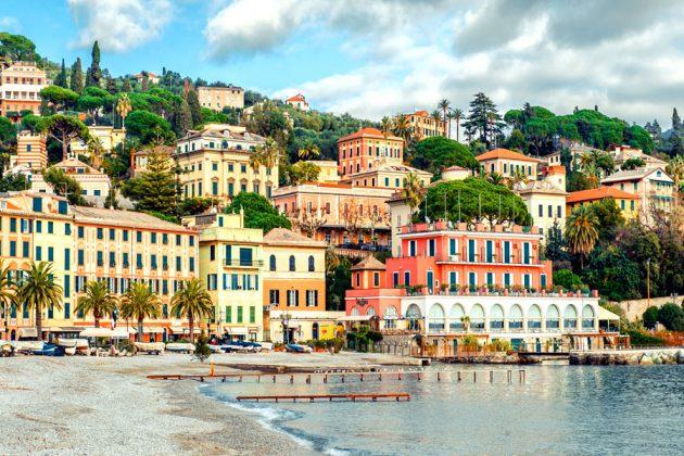 Santa Margherita Italiensk strandstad