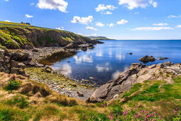 Skottland Lerwick Shetland Islands