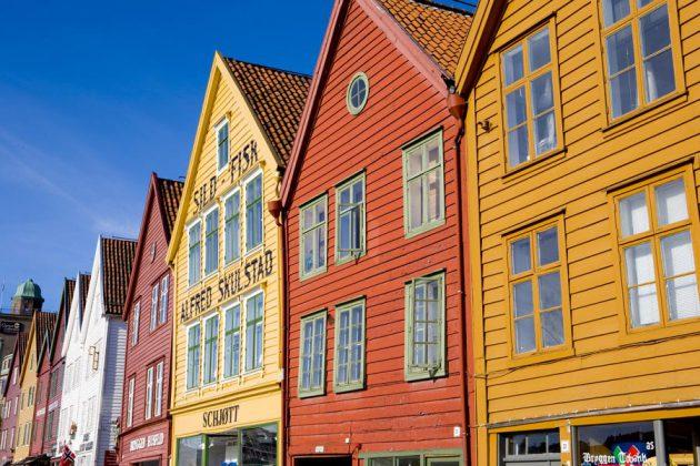 Trähus-i-Bergen