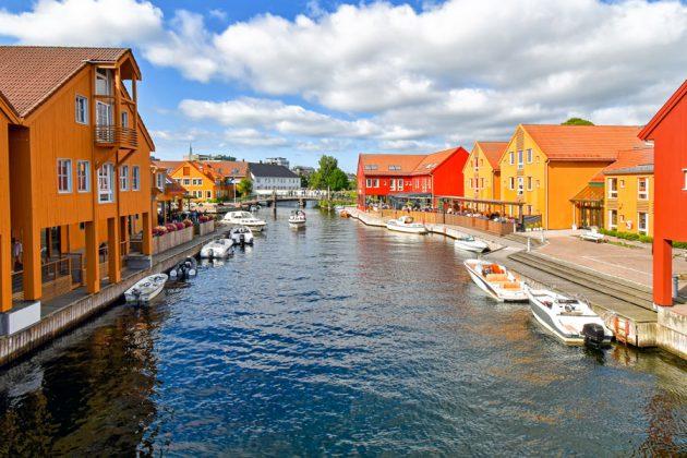 Fiskebryggadistriktet i Kristiansand