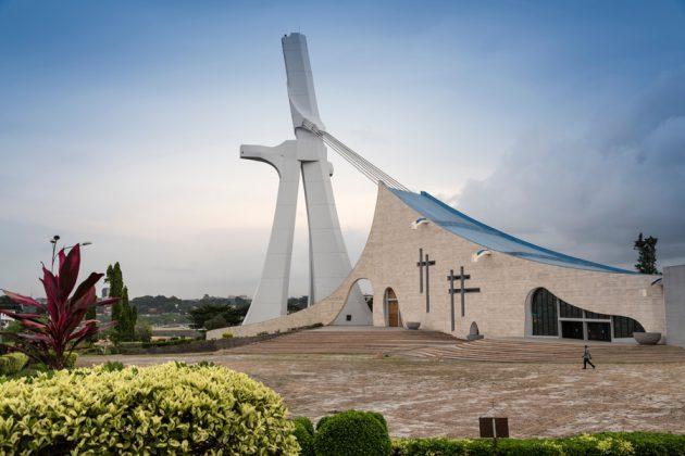 St Pauls Katedralen i Abidjan