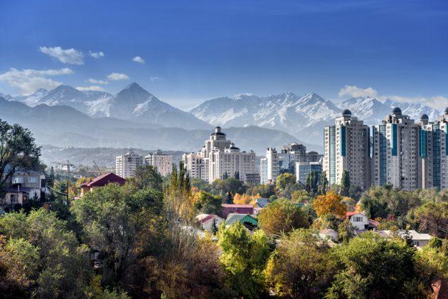 Almaty i Kazakstan