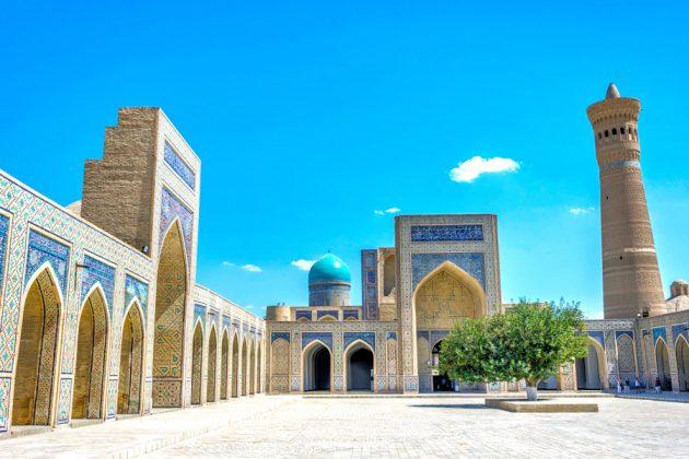 Kalyan Moskéen i Bukhara, Uzbekistan