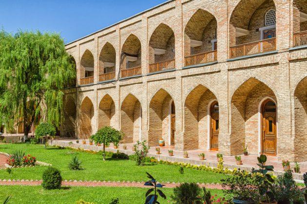 En madrasah i Tashkent, Uzbekistan