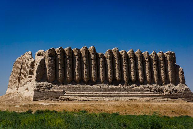 Kyz Qala i Merv, Turkmenistan