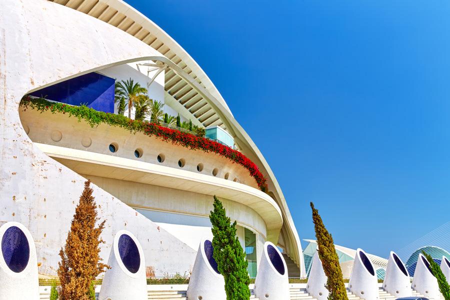 Operahuset i Valencia, Spanien.