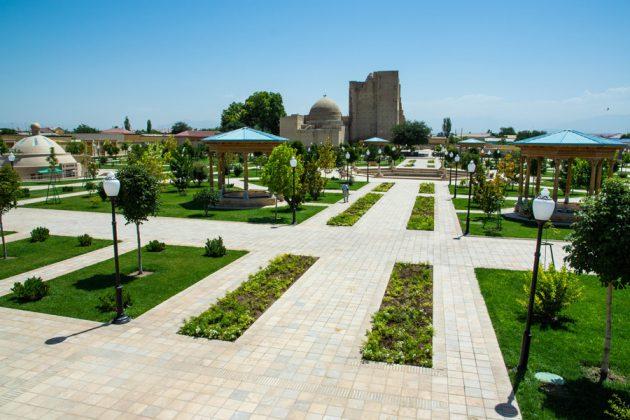 Gamla stan i Shahrisabz ,Uzbekistan